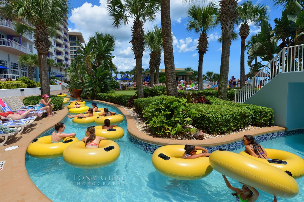 Lazy River Inner Tubing On Daytona Beach Florida Tony