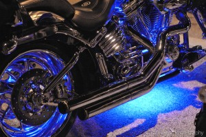 motorcycleneonbluelights