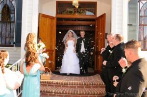 weddingbubblesexit