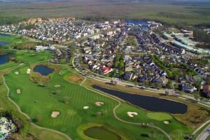 golfcelebrationflaerial