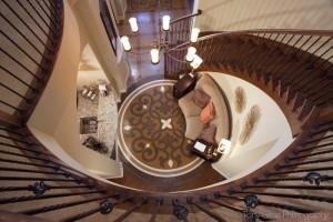 stairwelldownviewinterior