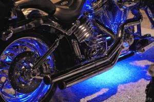 motorcycleneonbluelights